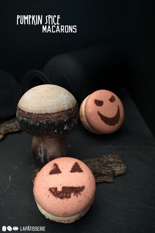 Halloween kann kommen mit meinen Pumpkin Spice Macarons.
