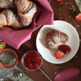Französische Croissant – Alles nur für Mama