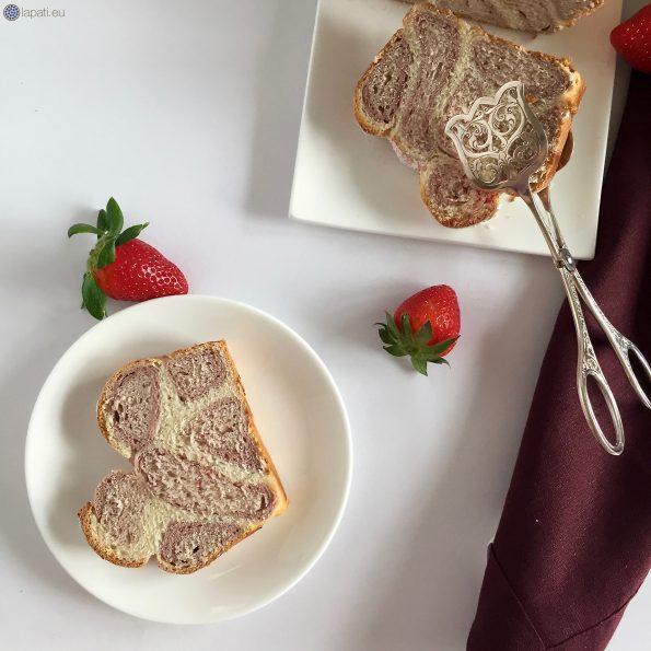 Ein Stück nur für euch von meinem rosaroten Leopardenkuchen. Kommt doch vorbei.