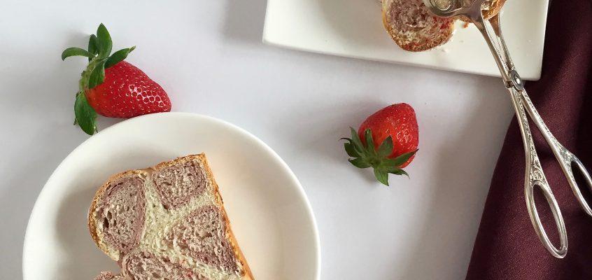 Rosaroter Leopardenkuchen – Süßes zum Frühstück