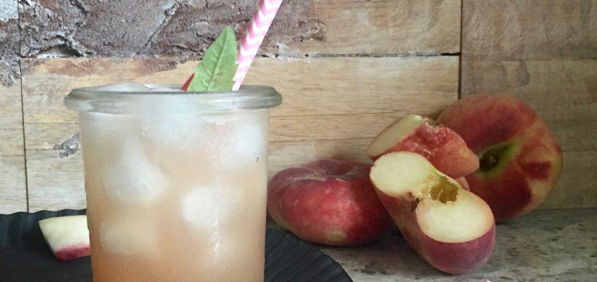 Pfirsich-Verbene-Limonade – Abseits von Minze und Melisse