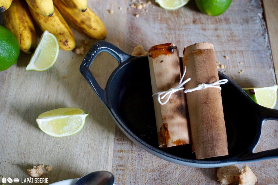 Sieht nicht nur interessant aus. Banane in Holz schmeckt auch noch richtig gut.