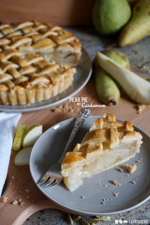 Da darf der Herbst gerne bleiben: Pear Pie mit Kardamom.