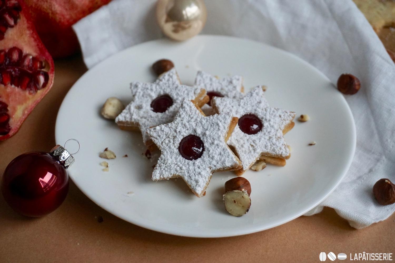 Einfache Herstellung und schnelle Zubereitung: Klassische Spitzbuben zum 3. Advent.