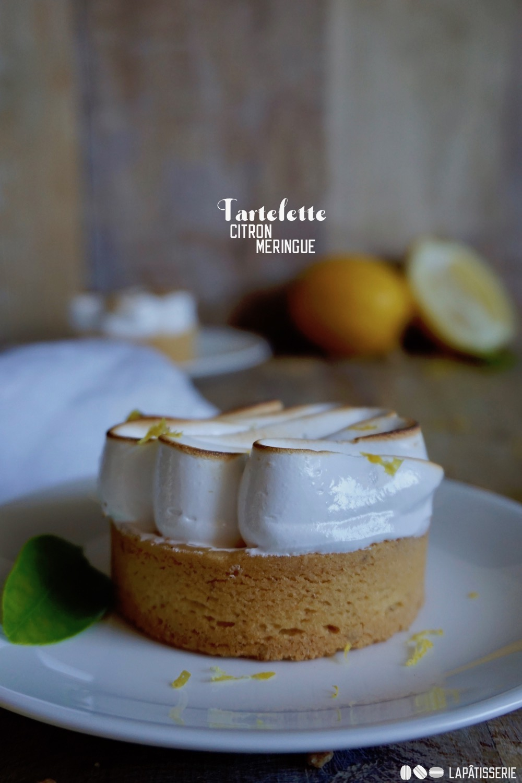 Meine liebste Tarte gibt's heute als Rezept: Fruchtige Tartelette Citron Meringue