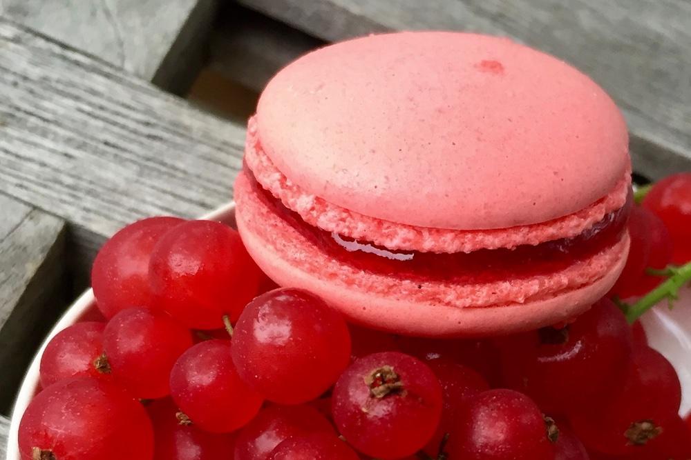 Rote Johannisbeer Macarons Lapâtisserie